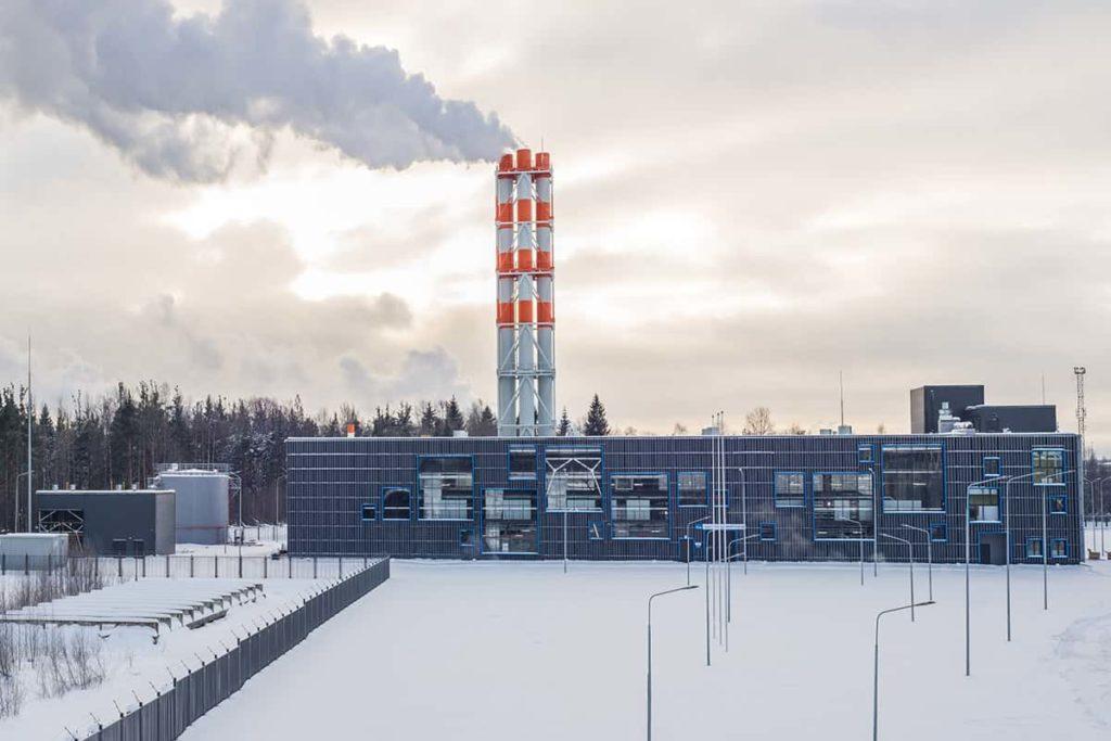 Котельная Газпром, г. Тихвин